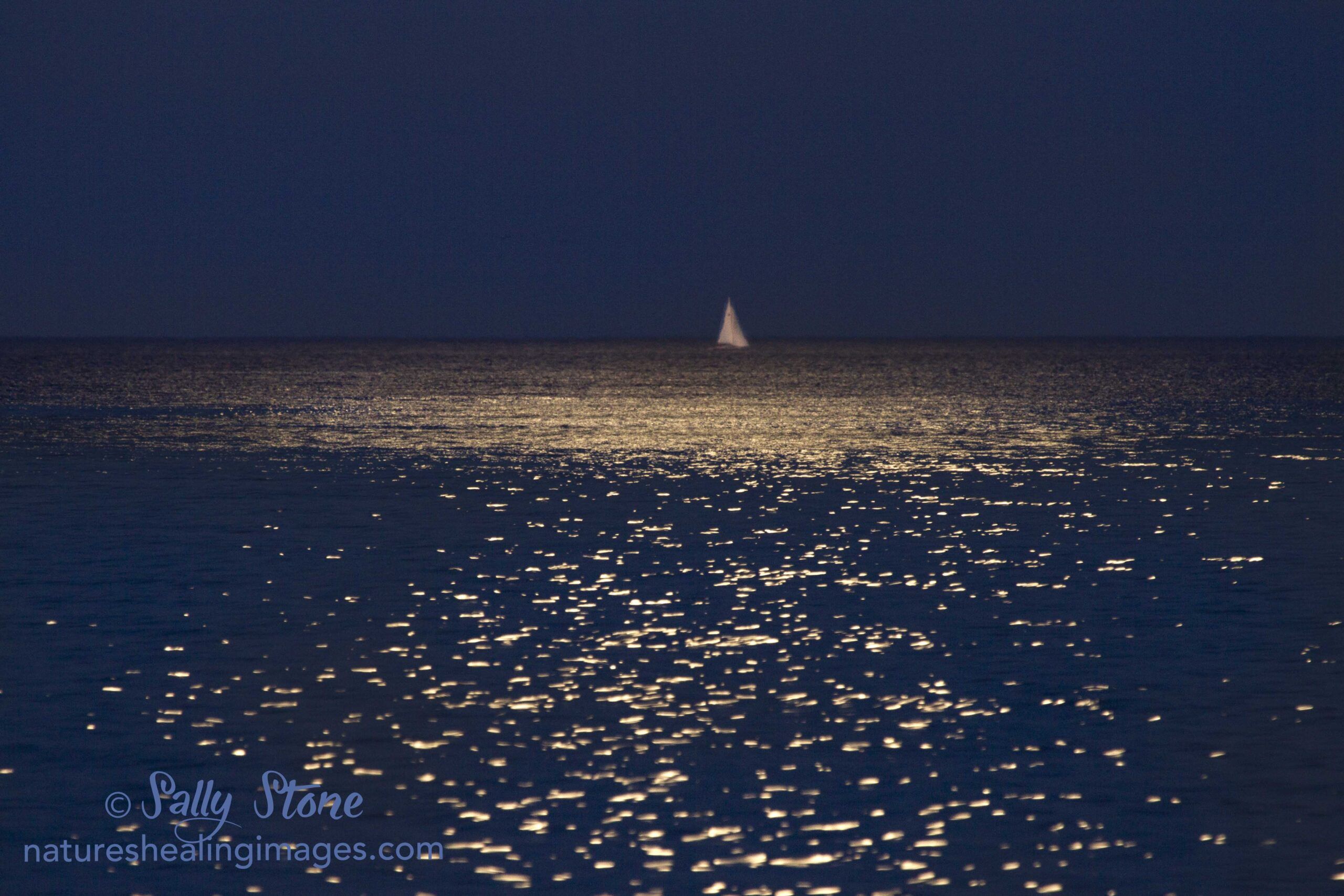 Lake Michigan Moonlight Sailing